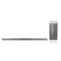 LG 4.1 Ch 360W Music Flow Wireless Curved Sound Bar  - LAS855 - IN STOCK