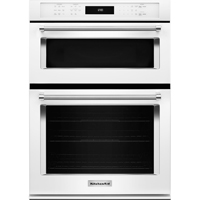 Kitchen Aid KOCE507EWH Electric 4.3 Cu. Ft. Combination White Wall Oven - KOCE507EWH - IN STOCK