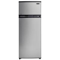 Danby Designer DPF074B1BSLD 7.4 Cu. Ft. Stainless Apartment Refrigerator - DPF074B1BSLDD / DPF074B1BSLD - IN STOCK