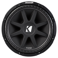 Kicker Classic 15 in. Comp 4 Ohm SVC Subwoofer - 43C154 - IN STOCK