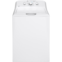 G.E. GTW330ASKWW 3.8 Cu. Ft. White Top Load Washer - GTW330ASKWW - IN STOCK