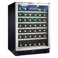 Danby Designer DWC508BLS 5.3 Cu. Ft. 50 Bottle Wine Cooler - DWC508BLS - IN STOCK