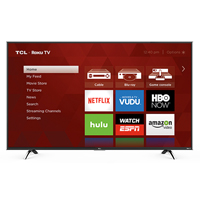 TCL 49FP110 49 in. Smart 1080p Clear Motion Index 120Hz Roku LED UHDTV - 49FP110 - IN STOCK