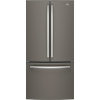 G.E. GNE25JMKES 25 Cu. Ft. Slate French Door Refrigerator - GNE25JMKES - IN STOCK