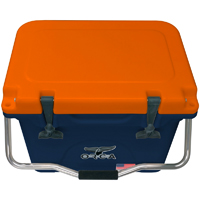 ORCA Coolers ORCNAOR020 Collegiate Navy & Orange 20 Quart Cooler - ORCNAOR020 - IN STOCK