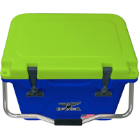 ORCA Coolers ORCBLCH020 Collegiate Blue & Chartreuse 20 Quart Cooler - ORCBL-CH020 / ORCBLCH020 - IN STOCK