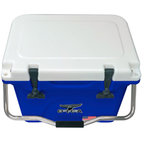 ORCA Coolers ORCBL/WH020 Collegiate Blue & White 20 Quart Cooler - ORCBL-WH020 / ORCBL/WH020 - IN STOCK