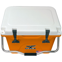 ORCA Coolers ORC0RWH020 Collegiate Orange & White 20 Quart Cooler - ORCOR-WH020 / ORC0RWH020 - IN STOCK