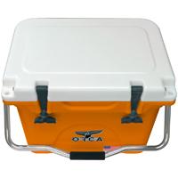 Orca Cooler ORC0RWH020 Collegiate Orange & White 20 Quart Cooler - ORC0RWH020 - IN STOCK