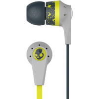 Skull Candy INK�D 2 Earbuds w/ Microphone - Lime & Black - S2IKGY-385 / S2IKGY385 - IN STOCK