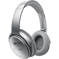 Bose QuietComfort� 35 wireless headphones - Silver - 017817725453 / QC35WIRELSW - IN STOCK