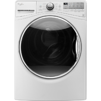 Whirlpool WFW92HEFW 4.5 Cu. Ft. White Front Load Steam Washer - WFW92HEFW - IN STOCK