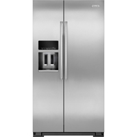 Kitchen Aid KRSC500ESS 20 Cu. Ft. Side-by-Side Counter Depth Stainless Refrigerator - KRSC500ESS - IN STOCK