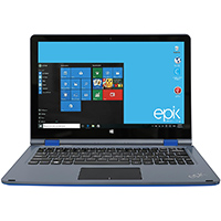 Epik 11.6 in. Touchscreen, Intel Atom Z8300, 2GB RAM, 32GB SSD, Windows 10 Blue Tablet PC - ELL1102BL - IN STOCK