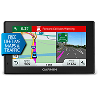 Garmin Garmin DriveAssist� 50LMT 5 in. Navigation System w/ Lifetime Maps & Traffic - DRIVEAS50LMT - IN STOCK