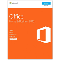 Microsoft Office Home and Business 2016 - T5D-02776 / T5D02776 - IN STOCK