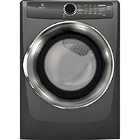 Electrolux EFME517STT Electric 8 Cu. Ft. Titanium Perfect Steam Dryer - EFME517STT - IN STOCK