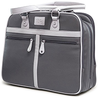 Mobile Edge 16 in. Verona Graphite Laptop Tote - MEWVLG - IN STOCK