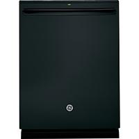 G.E. GDT655SGJBB 16 Place Setting Black Hidden Control Dishwasher - GDT655SGJBB - IN STOCK