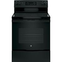 G.E. JBS60DKBB Electric 5.3 Cu. Ft. 4 Element Black Range - JBS60DKBB - IN STOCK