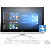 HP 23.8 in. Touchscreen, AMD A8-7410, 8GB RAM, 1TB HDD, Windows 10 All-in-One - V8P00AA#ABA / 24-G020 / 24G020 - IN STOCK