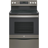 G.E. JB655EKES Electric 5.3 Cu. Ft. 5 Element Slate Range - JB655EKES - IN STOCK