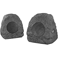 Innovative Technology Charcoal Bluetooth Outdoor Rock Speaker Pair - ITSBO-358P / ITSBO358P - IN STOCK