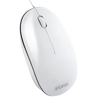 iHome Wired Mac Mouse - IMAC-M100W / IMACM100W - IN STOCK