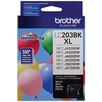 Brother Innobella� High Yield (XL Series) Black Ink Cartridge - LC203BK - IN STOCK