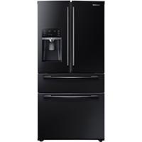 Samsung RF25HMEDBBC 25 Cu. Ft. Black 4-Door French Door Refrigerator - RF25HMEDBBC/AA / RF25HMEDBBC - IN STOCK