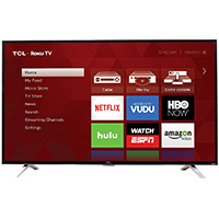 TCL 65 in. Roku Smart 4K Ultra HD 120Hz Clear Motion Index LED UHDTV  - 65US5800 - IN STOCK