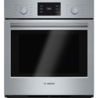 Bosch 500 Series HBN5451UC 4.1 Cu. Ft. Electric Stainless Wall Oven - HBN5451UC - IN STOCK