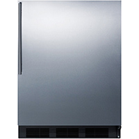 Summit FF63BBISSHV 5.5 Cu. Ft. Stainless Compact Refrigerator - FF63BBISSHV - IN STOCK