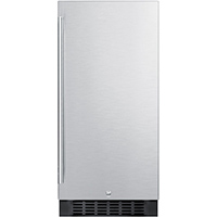 Summit FF1532BSS 3.0 Cu. Ft. 15 in. Stainless Compact Refrigerator - FF1532BSS - IN STOCK