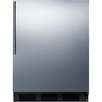 Summit CT663BBISSHV 5.1 Cu. Ft. Stainless Compact Refrigerator - CT663BBISSHV - IN STOCK
