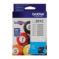 Brother Innobella� Standard Yield Cyan Ink Cartridge - LC201C - IN STOCK