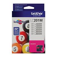 Brother Innobella� Standard Yield Magenta Ink Cartridge - LC201M - IN STOCK