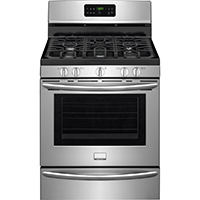 Frigidaire Gallery DGGF3046RF 5 Cu. Ft. 5 Sealed Burners Stainless Gas Range - DGGF3046RF - IN STOCK