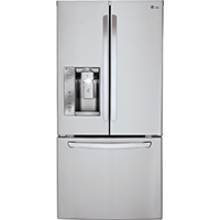 LG LFXS24623S 24 Cu. Ft. Stainless French Door Refrigerator - LFXS24623S - IN STOCK