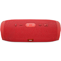 JBL Charge 3 Waterproof Portable Bluetooth Speaker - Red - CHARGE3RED - IN STOCK