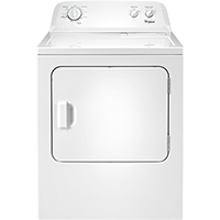 Whirlpool WED4616FW 7.0 Cu. Ft. Electric Dryer - WED4616FW - IN STOCK