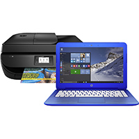 HP Stream 13.3 in., Intel Celeron-N3050, Windows 10 Notebook Bundle - S13C1110BUN - IN STOCK