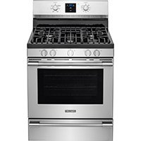 Frigidaire Professional FPGF3077QF 5.6 Cu. Ft. 5 Burner Stainless Range - FPGF3077QF - IN STOCK