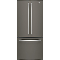 G.E. GNE21FMKES 21 Cu. Ft. Slate French Door Refrigerator - GNE21FMKES - IN STOCK