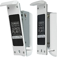 Flexson White Wall Mount Pair for Sonos PLAY:1 - FLXP1WB2011 - IN STOCK