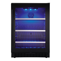 Silhouette SSBC056D2B Prague 24 in. Single Zone Beverage Center - SSBC056D2B - IN STOCK