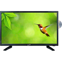 Supersonic SC1912 19 in. 720p LED HDTV with DVD Player - SC-1912 / SC1912 - IN STOCK