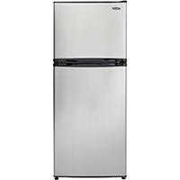 Danby DFF100C1BSLD 10 Cu. Ft. Stainless Top Freezer Refrigerator - DFF100C1BSLDB / DFF100C1BSLD - IN STOCK