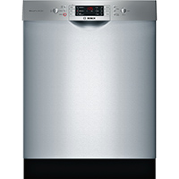 Bosch 800 Series SGE68U55UC 15 Place Setting Top Control Stainless Dishwasher - SGE68U55UC - IN STOCK