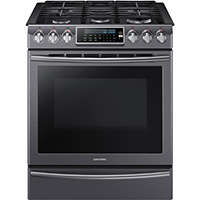 Samsung NX58K9500WG 5.8 Cu. Ft. 5 Burner Slide-In Gas Range - NX58K9500WG - IN STOCK